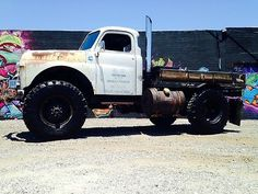 1949 Dodge Truck Cummins Diesel Power 4x4 Rat Rod Tow Truck