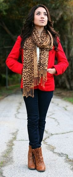 This blazer is the perfect shade red! I need this asap