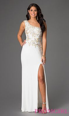 f94d7ba51821 Long Prom Dresses and Formal Prom Gowns - PromGirl - PromGirl