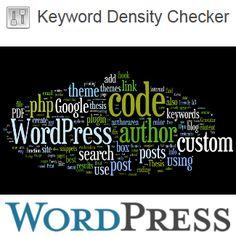 Keyword Density Checker Plugin