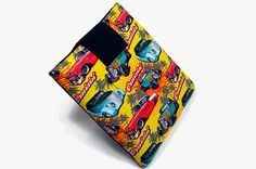 Hand Crafted Tablet Case from Cruisin' Cars by MyTabletCasePlace