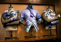 """BERNSTEIN DISPLAY, New York, """"A well-tied tie is the first serious step in life"""", pinned by Ton van der Veer"""