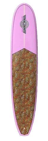 Orchid and animal print surfboard by . Walden Surfboards, Surfs Up, Orchid, Design Elements, Magic, This Or That Questions, Animal, The Originals, Model