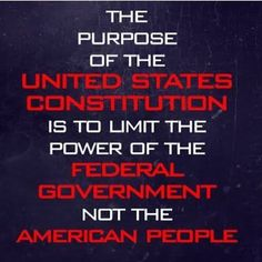 Exactly! The constitution's sole reason of existing is to limit the government. We have seen far too many times recently in which the government has flipped this around.  #defundPP #abortion #murder #libtards #guns #noguncontrol #guncontrol #nohillary #standwithrand #rand2016 #carson2016 #conservative #liberal #nobama #liberallogic #Cruz2016 #TrusTED  DM PICTURES FOR ME TO POST!  visit http://www.youthrevolt.org  ---------------------------------------- FOLLOW THESE GREAT PARTNERS…