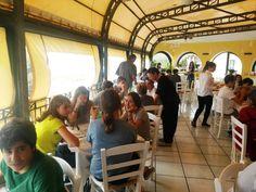Il primo pranzo sull'isola... #camposcuola #LNV2015