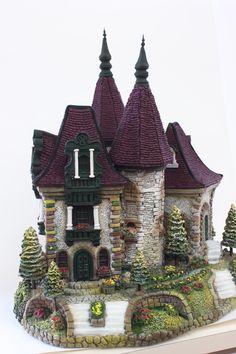 以前よりお知らせしておりましたが 造形Ⅲの見直しレッスンが12月よりスタートいたします。  見直しされた造形コース3のカリキュラムは... Cathedral, Miniatures, Cabin, House Styles, Building, Clay, Home Decor, Clays, Decoration Home