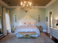 10 Romantic Bedrooms We Love | Bedroom Decorating Ideas for Master, Kids, Guest, Nursery | HGTV