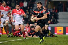 Vincent Clair rugby #TOP14 Saison 2012-2013 #Toulouse Rugby Championship, Toulouse France, Rugby Players, Top 14, Basketball Court, Running, Sports, Hs Sports, Keep Running