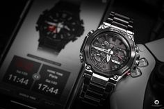 Casio released the latest generation of its G-SHOCK MTG-B2000D-1AER series, which I was now allowed to test as MTG-B2000D 1AER. Casio G-shock, Casio Watch, Watch Blog, Latest Generation, Mtg, Rolex Watches, In This Moment, Luxury Watches, Fire Department