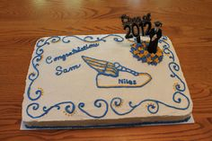 Cross Country and Track Athlete's Graduation  Cake