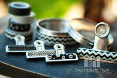 No one wants a boring bulldog clip. Make it cute with washi tape!