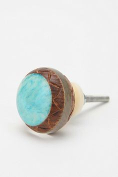 Carved Turquoise Knob #urbanoutfitters