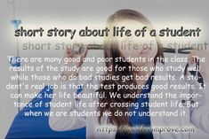 short story about life of a student, this story in truth and inspirational Inspirational Short Stories, Motivational Stories, Motivational Speeches, Stories With Moral Lessons, Short Moral Stories, Short Stories For Students, Good Morals, Education Today, Need Motivation