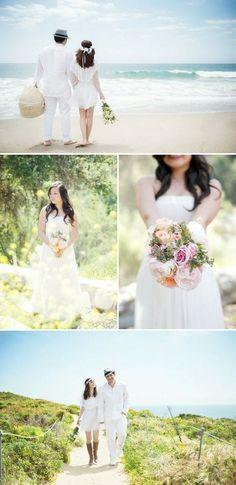 <3 beach. My dream wedding