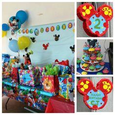 Mickey Mouse Clubhouse birthday theme. DIY Toodles piñata