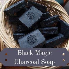 Natural handmade tallow soap recipe: black magic – Eight Acres
