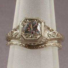 Angelic Accents: Vintage Engagement Rings, Jewels, and Wedding Cabinet Cards