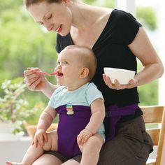 Cadeira de bebé portátil assento infantil Produto jantar Almoço Cadeira / cadeira de segurança Belt cadeira de alimentação de alimentação do bebê Cadeirinha Harness