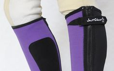Gaiters Half Chaps 183383: Just Chaps Kids Endurance Neoprene Half Chaps-Riding Chaps Black Blue Red Pink -> BUY IT NOW ONLY: $25.0 on eBay!