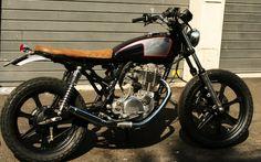 Yamaha Sr 500 Street Tracker - handmade