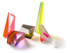 Acrylic prisms by Phillip Low