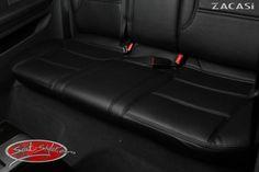 Design der Sitzbezüge: Paris: Leder-Optik (ZACASi Lederimitat) schwarz - mit vorher-nachher  #Audi #AudiA3 #Sportback #Design #Paris #Konfigurator #Autositzbezüge #Echtleder #Rückbank #zacasi