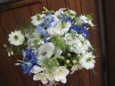 Inspiration for a wildflower bouquet :  wedding Wildflowers