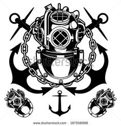 vintage sea diver - Google Search