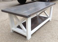 Rustic Coffee Table Success
