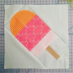 With the hot weather driving me to the basement and my sewing room I'm sure this will be perfected soon. Mug Rug Patterns, Quilt Block Patterns, Pattern Blocks, Quilting Projects, Quilting Designs, Sewing Projects, Quilting Tips, Quilting Tutorials, Sewing Crafts