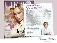 Magazyn Uroda Życia opisuje wiosenne zabiegi polecane przez Dr Joannę Magdziarz-Orlitz! Serdecznie polecamy :)