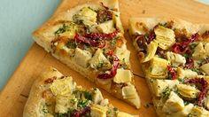 Luscious Artichoke Heart Pizza Recipe