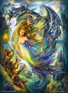 """Fairy is prisoner ""variant 2 by Fantasy-fairy-angel.deviantart.com"