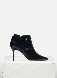 Strappy ankle boot - See all - FOOTWEAR - Uterqüe United Kingdom