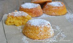 Tortine di zucca con limone e arancia