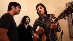 The Avett Brothers & Bob Crawford Sing Closer Walk (with thee) In NYC