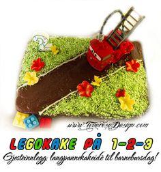 Legokake på 1-2-3! Gjesteinnlegg; super idè til barnebursdag!