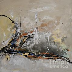 Limitless- Abstract Painitng by Ismeta Gruenwald