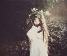 magic forest girl