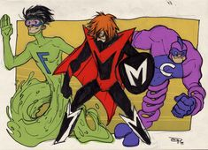 The Impossibles by ~DenisM79 on deviantART  If this one means anything to you, you're probably around my age. :)