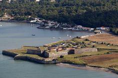 Le fort de la Prée, à La Flotte (île de Ré).