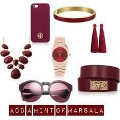 """Marsala2"" by sushma-reddy on Polyvore"