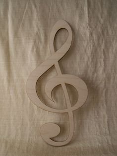 Music Note Clef Note Laser Cut Ready to Paint by TomaCraftPlace