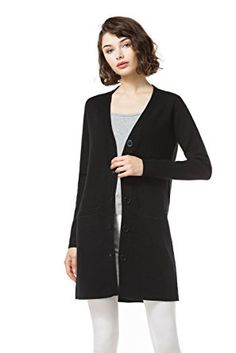 Knitbest Women's Long Sleeve Button Cardigan Sweater with Pockets Review