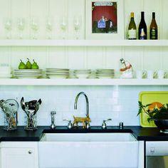 Great ideas for shelves   Kitchen command center   Sunset.com