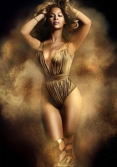 #beyonce #golden #body #sand #ancient