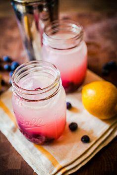 blackberry bramble with gin, lemon & berries
