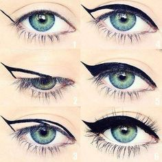 Tolle Eyeliner-Tipps für Make-up-Junkies Eyeliner Hacks, How To Apply Eyeliner, Mascara Tricks, Eyeliner Ideas, Eyeliner Styles, Thin Eyeliner, Pencil Eyeliner, Simple Eyeliner, Eyeliner Brush