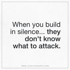 When You Build in Silence                                                                                                                                                                                 More