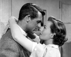 "Cary Grant and Jeanne Crain in ""People Will Talk"" (1951)."